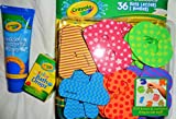 Best Crayola Educational Toys For 4 Year Olds - Crayola Bath Letters, Fingerpaint Soap and Color Bath Review