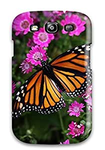 [ivFfhfE7360LwZLE] - New Butterfly Closeup Protective Galaxy S3 Classic Hardshell Case