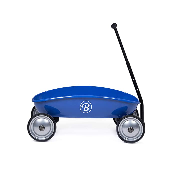 BAGHERA Mi Gran Carro Azul Remolque de Metal - Juguete ...