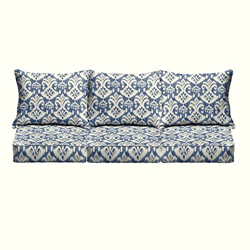 Mozaic AZPCSET8218 Swavelle Corded Outdoor Sofa Set, 23