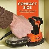 BLACK+DECKER Mouse Detail Sander, Compact Detail