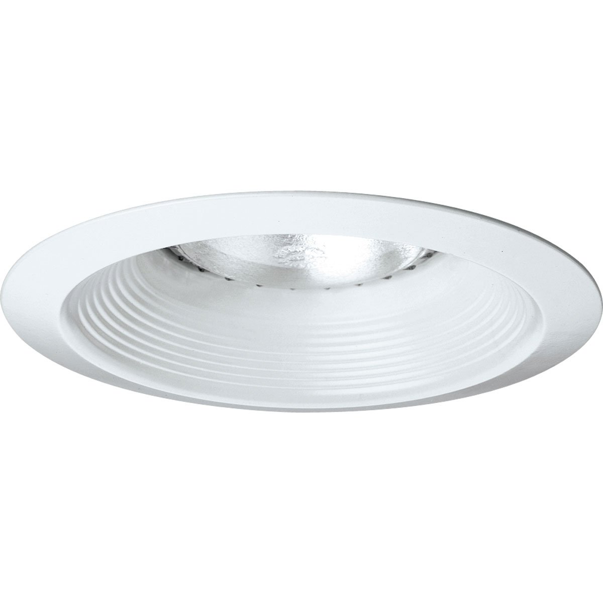 Progress Lighting P8075-28 Long Neck Baffle UL/CUL Listed For Damp Locations 7-3/4-Inch O D, White