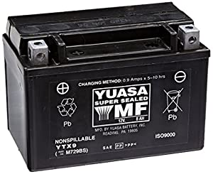 Yuasa YUAM729BS YTX9 Battery