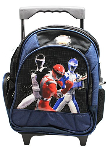 Power Rangers: Operation Overdrive Black/Navy Small Rolling Backpack (12in)