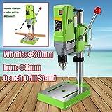 MINIQ Bench Drill Stand 710W Mini Electric Bench