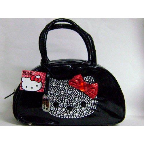 Stylish Hello Kitty Shoulder Bag Black
