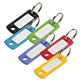 Lucky Line Key Tag With Ring; Assorted Colors; 75 Per Pack (16975)