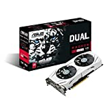 ASUS DUAL-RX480-O8G Radeon RX 480 8GB GDDR5 Fan OC Edition Graphic Cards