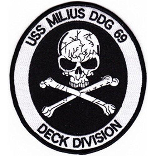 DDG-69 Milius Patch Deck Division