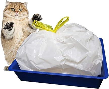 Bolsas para bandeja desechables, 7 unidades, higiénicas para gatos ...