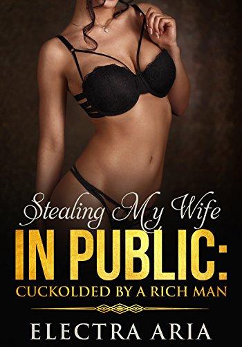 My wife in public