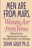 Image of Men Are From Mars, Women Are From Venus by Gray, John [Ph.D] (1992) Hardcover