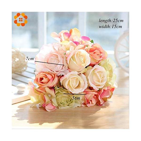 ARISLUX-Chicken-Party-12pcs-Artificial-Rose-Bouquet-Decorative-Silk-Flowers-Bride-for-Wedding-Home-Party-Decoration-Wedding-Supplies