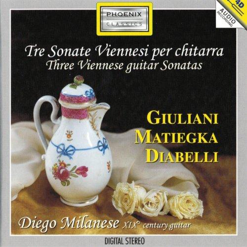 Viennese Sonatas - Tre Sonate Viennesi per chitarra (XIX Century Guitar)