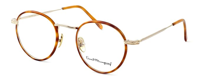 be08a48a80 Amazon.com  Ernest Hemingway Eyeglass Collection 4681 in Gold-Blonde ...