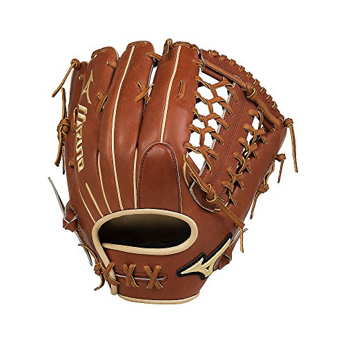 Mizuno GPS1-700DS Pro Select Outfield Baseball Glove, Size 12.75, Brown, Right Hand Throw