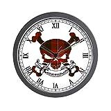 Cheap CafePress – Cunningham Tartan Skull Wall Clock – Unique Decorative 10″ Wall Clock
