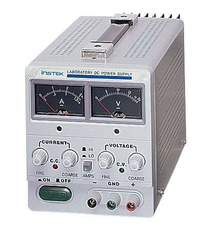GW Instek GPS-1830D High-Current, Single-Output DC Power Supply, 0 to 18 VDC, 0 to 3 A
