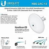 Ubiquiti NBE-2AC-13 airMAX NanoBeam AC 2.4Ghz 13dBi CPE with Dedicated Wi-Fi Management