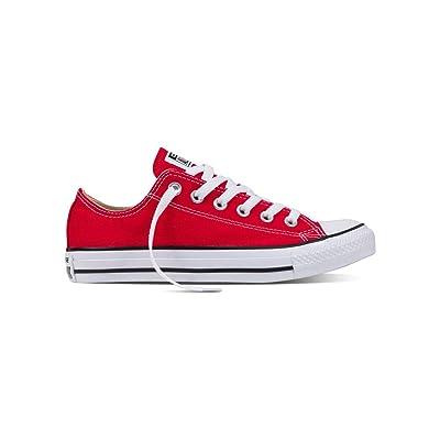 Converse Chuck Taylor All Star Ox Red 44 M EU / 12 B(M) US Women / 10 D(M) US Men | Fashion Sneakers
