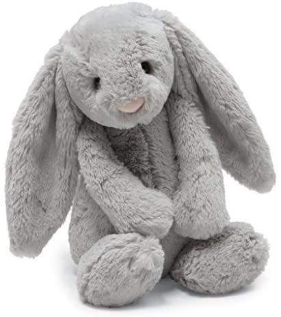 B00NYA4LVC Jellycat Bashful Grey Bunny Stuffed Animal, Huge, 21 inches 516yYa1rTnL