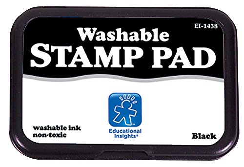 Educational Insights Washable Stamp Black