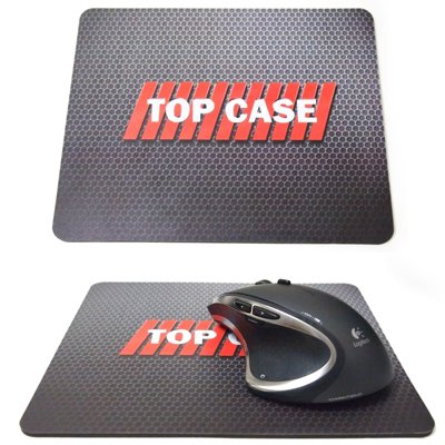 """TopCase® 2 in 1 Ultra Slim Light Weight Rubberized Hard Case Cover and Keyboard Cover for Macbook Pro 13-inch 13"""" (A1278/with or without Thunderbolt) with TopCase® Mouse Pad (Macbook Pro 13"""" A1278, Black)"""