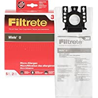 3M Filtrete Miele Style U Synthetic Micro Allergen Pkg Vacuum Bag