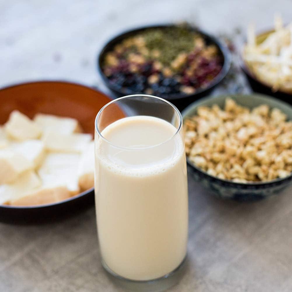 Havenport - Bolsas de chaleco, 10 unidades, bolsas de leche, 100% algodón orgánico, bolsa de frío, colador de alimentos reutilizable para yogur, tela de queso, zumo, té, café y más (grande, 30,5