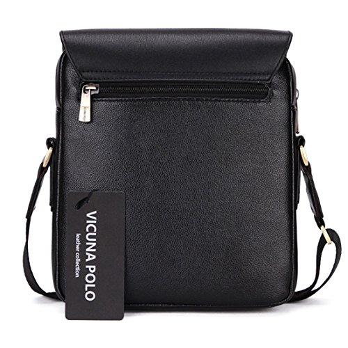 Bag Shoulder Black 23 Black For 20 Black Polo 7cm Men Vicuna tOqEff