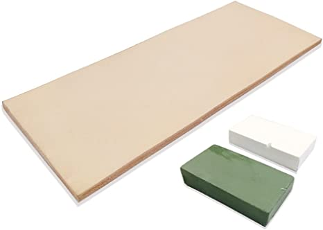 Verde bianco Compound Lavoda Leather Honing Strop 7,6/ cm da 20,3/ cm con 56,7/ gram
