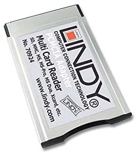 LINDY 46-in-1 PCMCIA Card Reader (70924)