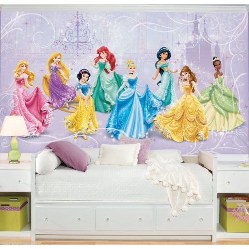 RoomMates Disney Princess Royal Debut Prepasted, Removable Wall Mural - 6' X 10.5' by RoomMates (Image #1)