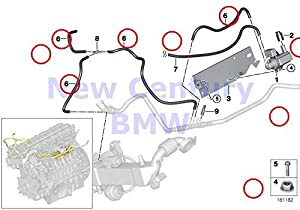 Amazon Com Bmw Genuine Vacuum Hose Black 3 5x2 0 X5 3 5d