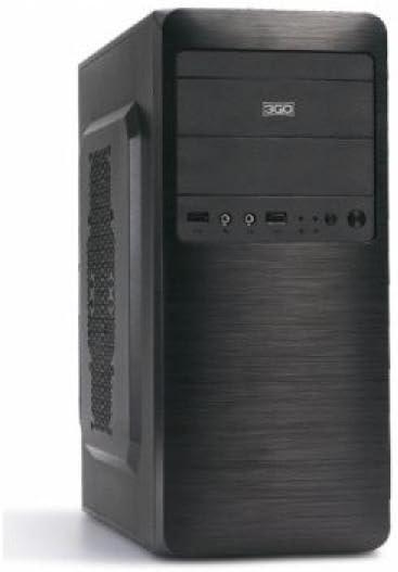 3GO Excellent Torre Gris - Caja de Ordenador (Torre, PC, SPCC ...