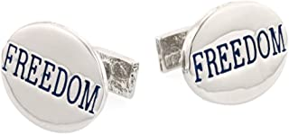 product image for JJ Weston Freedom Cufflinks. Made in The USA