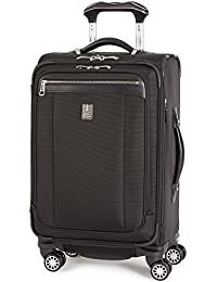 Platinum Magna 2 Carry-On Expandable Spinner Suiter Suitcase, 21-in., Black