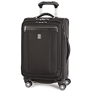 Travelpro PlatinumMagna2 Carry-On Expandable Spinner Suiter Suitcase, 21-in, Black