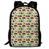 School Backpack Cute Coccinella Septempunctata 3D Adult Outdoor Leisure Sports Backpack