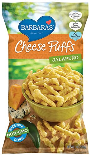 Barbara's Bakery Jalapeno Cheese Puffs, 7 oz