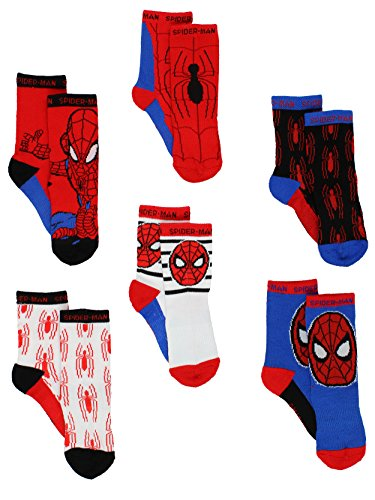 Super Hero Adventures Spider-Man Boys 6 pack Athletic