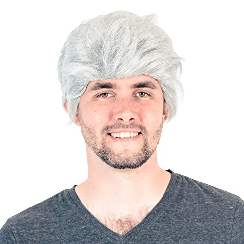Deluxe Late Night Talk Show Host Wig Leno