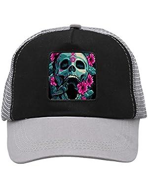 Unisex XO Skull Adjustable Classic Hiphop Hat Baseball Cap Snapback Dad Hat