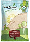 Organic Coconut Flour by Food to Live (Non-GMO, Kosher, Raw, Vegan, Unsweetened, Unrefined, Unsulfured Fine Powder, Bulk, Great for Baking) (8 Pounds)