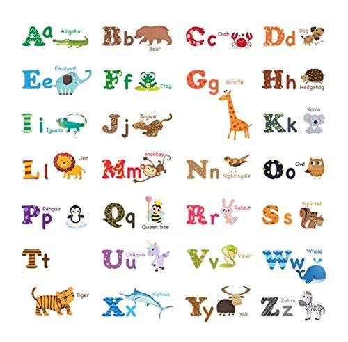 large alphabet decals - 3