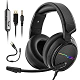 XIBERIA V20 Gaming Headset for PS4 PC Wii U Xbox One,Gaming Headphones