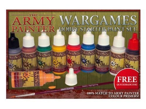 The Army painter Warpaints Wargames Hobby Starter Paint Set WP8003 (Old Version) from The Army Painter