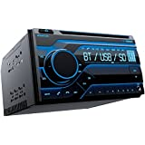 amazon com clarion vz300 3 5 in dash dvd cd mp3 usb receiver planet audio pb475rgb mp3 compatible bluetooth cd am fm receiver