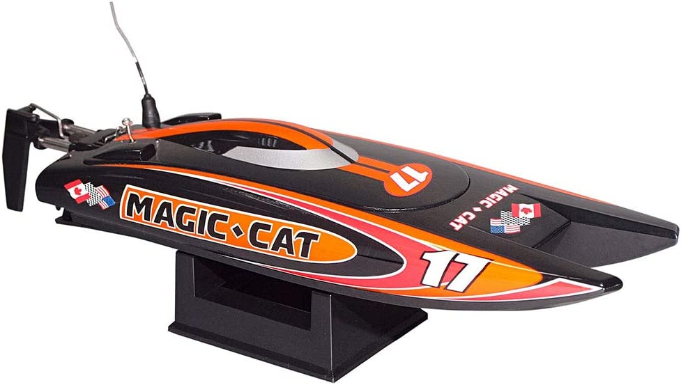 516ycO2l04L AC SL1000 in RC Rennboot Magic Cat von Joysway
