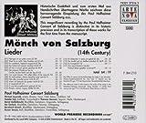 Monch Von Salzburg: 14th Century Leider